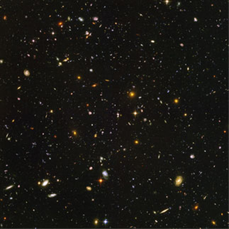 Hubble Deep View 1000 Galaxies